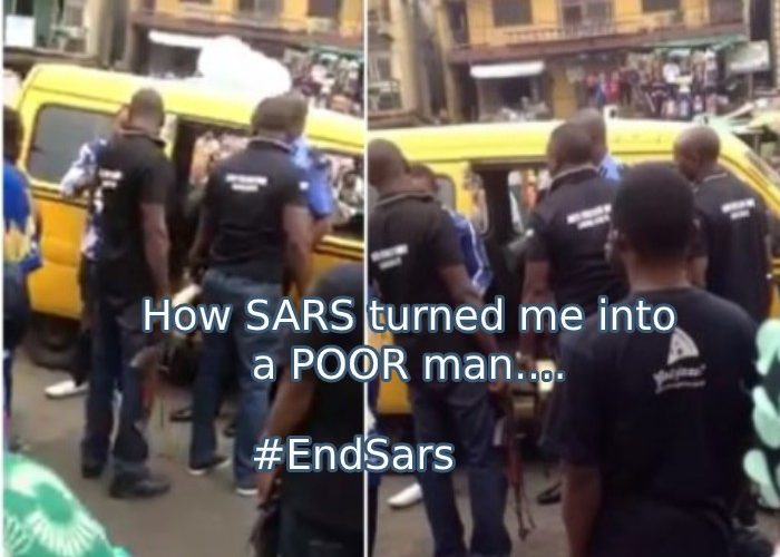 I was a Rich Big Boy but SARS encounter with me and my brother took me into Poverty – Displeased man shares
