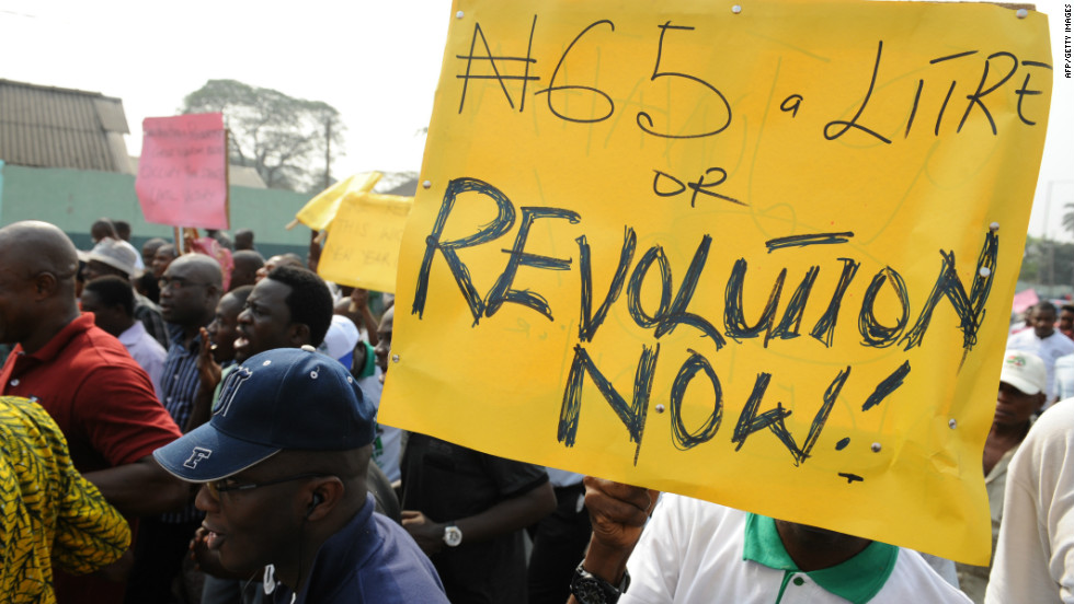 Fuel Subsidy protest